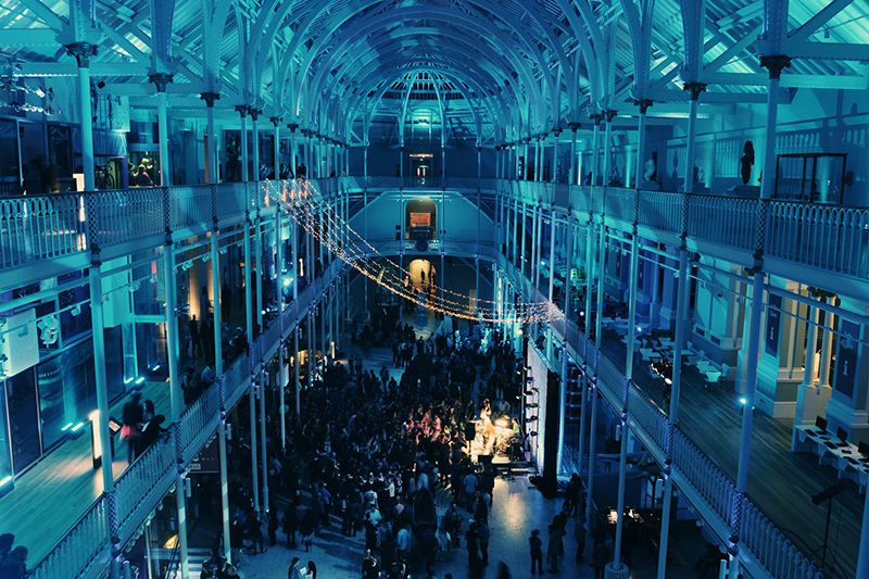 Museum Lates events at the National Museum of Scotland