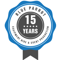 Blue Parrot - Celebrating 15 Years